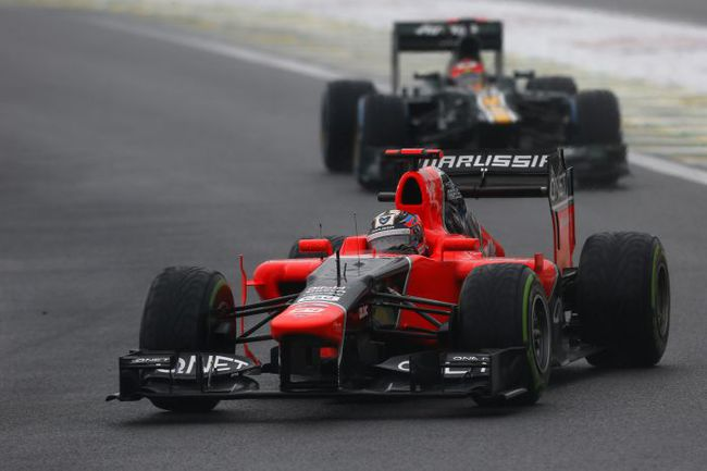 """Тимо ГЛОК не стартовал лишь в одной гонке из 58, проведенных """"Марусей"""", и принес команде лучший результат - 12-е место на """"Гран-при Сингапура"""" этого года. Фото - Marussia F1 Team. Фото """"СЭ"""""""