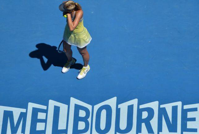 Сегодня. Мельбурн. Мария ШАРАПОВА. Фото AFP