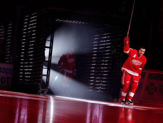 "Нападающий ""Детройта"" Павел ДАЦЮК. Фото AFP"