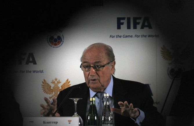 Президент ФИФА Йозеф БЛАТТЕР. . Фото REUTERS