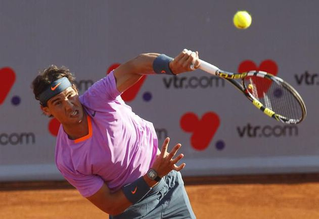 Рафаэль НАДАЛЬ вернулся после 7-месячного отсутствия и сыграл в Вилья-дель-Маре в двух финалах. Фото REUTERS