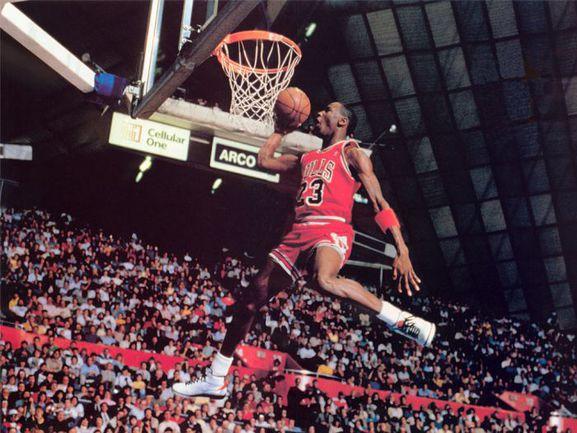 """Самый высокий полет Майкла Джордана Фото """"СЭ"""""""