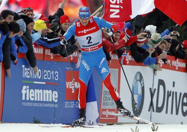Александр ЛЕГКОВ - лучший из россиян в общем зачете Кубка мира по лыжным гонкам. Фото REUTERS