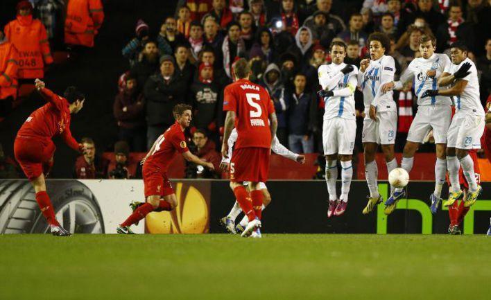 """Несмотря на неудачную игру в """"Ливерпуле"""", """"Зенит"""", по мнению Александра Панова, имеет хорошие шансы на выход в четвертьфинал. Фото REUTERS"""