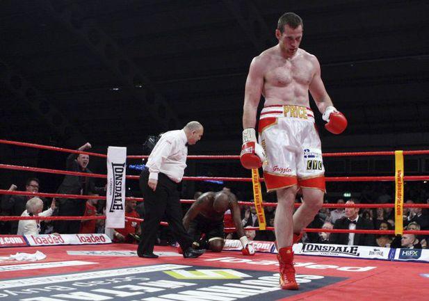 """Британский тяжеловес Дэвид ПРАЙС потерпел сенсационное поражение. Фото AFP. Фото """"СЭ"""""""