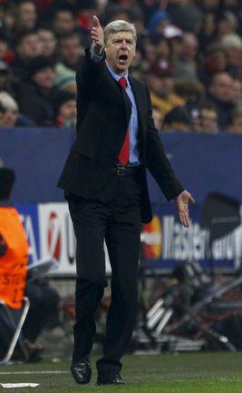 """Среда. Мюнхен. """"Бавария"""" - """"Арсенал"""" - 0:2. Несмотря на победу, Арсен ВЕНГЕР и его команда покидают Лигу чемпионов. Фото Reuters"""