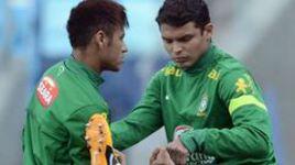 ...будет вместе с НЕЙМАРОМ одним из лидеров сборной Бразилии.