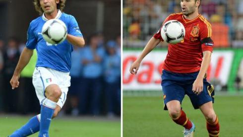 Испания - Италия. Четыре дуэли