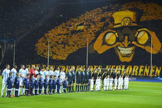 Боруссия дортмунд стадион видео