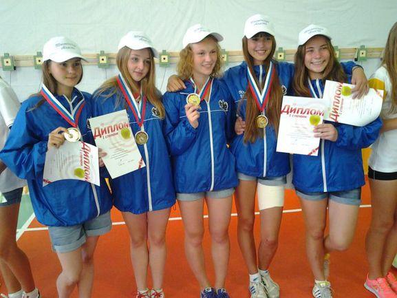 Счастливые победители III Президентских спортивных игр.