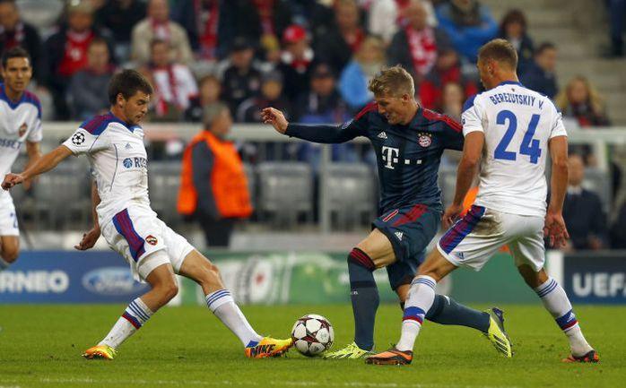 Мюнхен футбол бавария цска