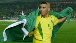 30 июня 2002 года. Йокогама. Финал чемпионата мира. Бразилия - Германия - 2:0. Автор двух голов в ворота немцев РОНАЛДО.