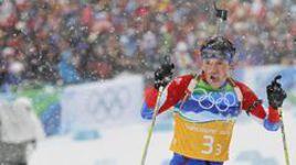 2010 год. Ванкувер. Бронзовый призер Олимпиады в эстафете Максим ЧУДОВ.