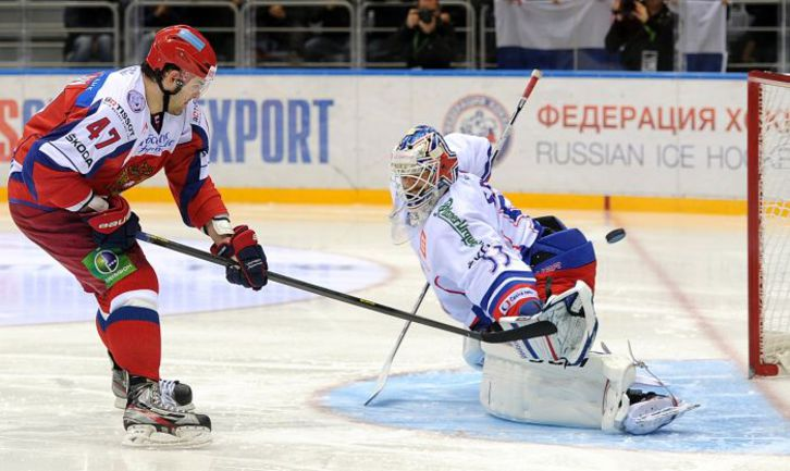 Попади в ворота хоккей