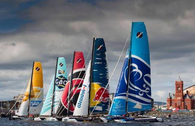 В Санкт-Петербурге пройдет одна из регат топ-серии парусных гонок Extreme Sailing Series.
