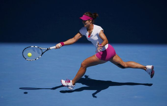 ЛИ НА с третьей попытки попробует завоевать титул на Australian Open. Фото REUTERS