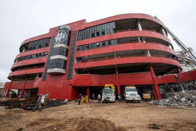 """Так стадион """"Арена да Баишада"""" выглядел до реконструкции... Фото AFP"""