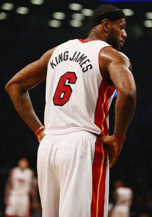 """Форвард """"Майами"""" Леброн ДЖЕЙМС ожидаемо стал победителем голосования по определению стартовых пятерок Матча звезд НБА. Фото AFP"""