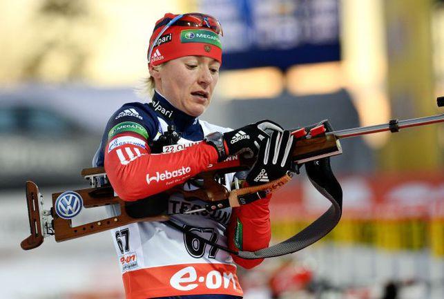 Екатерина ЮРЬЕВА не попала на Олимпиаду,  несмотря на обнадеживающее начало сезона. Фото AFP