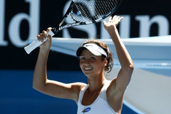 Сегодня. Мельбурн. Елизавета КУЛИЧКОВА: есть победный дубль на юниорском Australian Open! Фото REUTERS