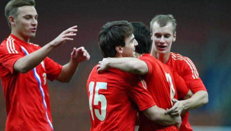 Молодежная сборная России со счетом 3:0 выиграла и второй матч на Кубке Содружества. Фото РФС