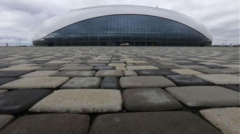 """Сочи. Дворец спорта """"Большой"""", где будет разыграно золото хоккейного турнира. Фото REUTERS"""