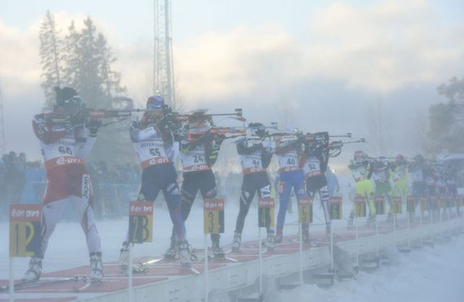 На биатлонную сборную опустился допинговый туман Фото AFP