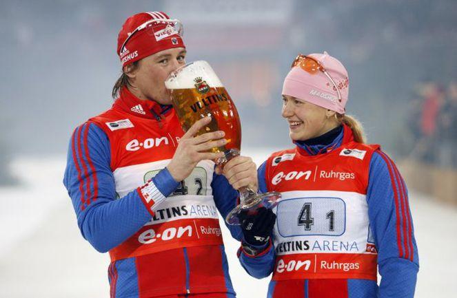 Дмитрий ЯРОШЕНКО (слева) и Екатерина ЮРЬЕВА в феврале 2009-го попали в громкий допинговый скандал. Фото REUTERS