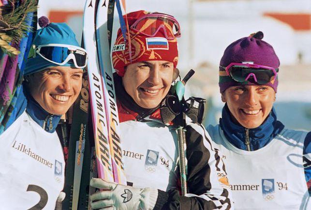 Любовь ЕГОРОВА (в центре). Фото РИА Новости