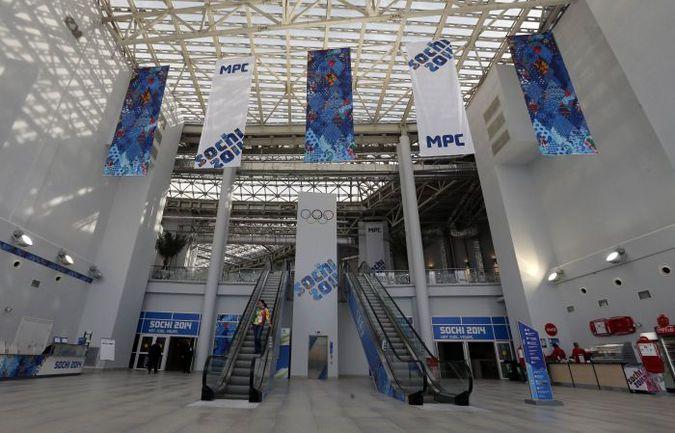 Сочи. Так изнутри выглядит главный медиа-центр Олимпиады-2014. Фото REUTERS