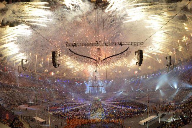 12 августа 2012. Лондон. Церемония закрытия Олимпиады-2012. Фото AFP