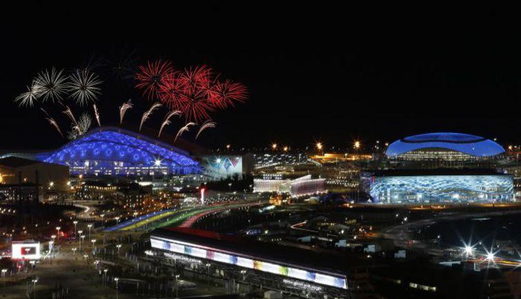 1 февраля. Сочи. Репетиция открытия Олимпиады. Фото REUTERS