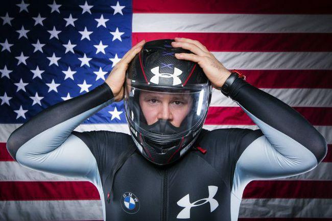 Олимпийский чемпион 2010 года и многократный чемпион мира Стивен ХОЛКОМБ. Фото REUTERS