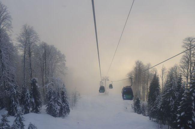 """У подножия лыжно-биатлонного комлекса """"Лаура"""". Фото Александр ФЕДОРОВ, """"СЭ"""""""