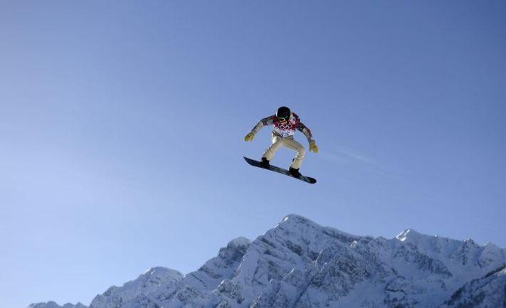 Шоу УАЙТ пропустит соревнования по слоупстайлу в Сочи. Фото REUTERS