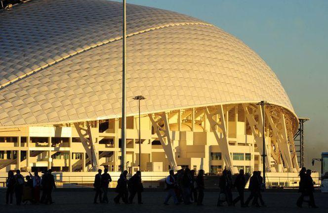 """""""Фишт"""" и Сочи готовы к церемонии открытия Олимпиады. Фото ТАСС"""