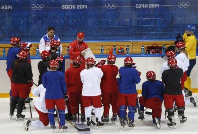 Шохина - как Мальцев, Пашкевич - как мамка Фото REUTERS