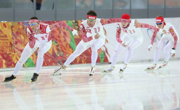 Вчера. Сочи. Тренировка олимпийской сборной России по конькам. Фото ТАСС