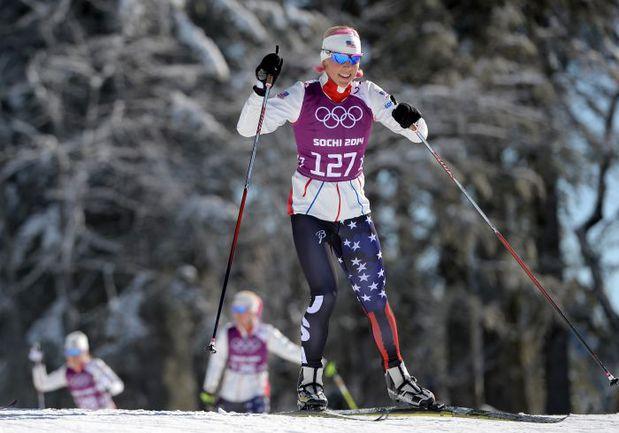 В США ждут медального дождя от своих спортсменов на Играх-2014 в Сочи, в том числе и от лыжницы Киккан РЭНДОЛЛ. Фото AFP