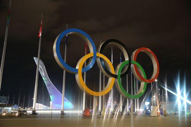 """Сочи. Сегодня на стадионе """"Фишт"""" будет зажжен огонь зимних Олимпийских игр-2014. Фото ТАСС"""