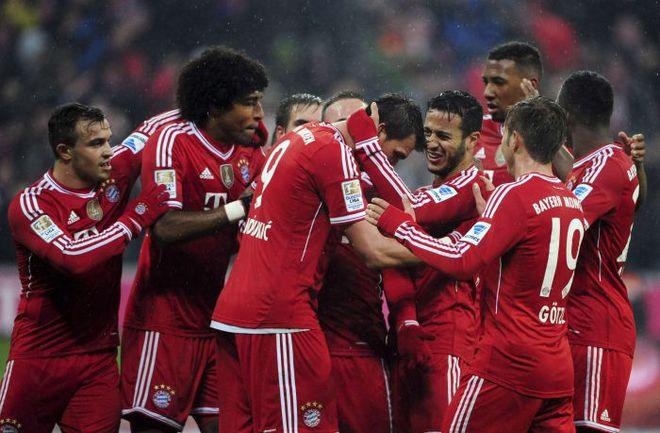 """""""Бавария"""" не проигрывает в бундеслиге уже 44 матча. Фото REUTERS"""