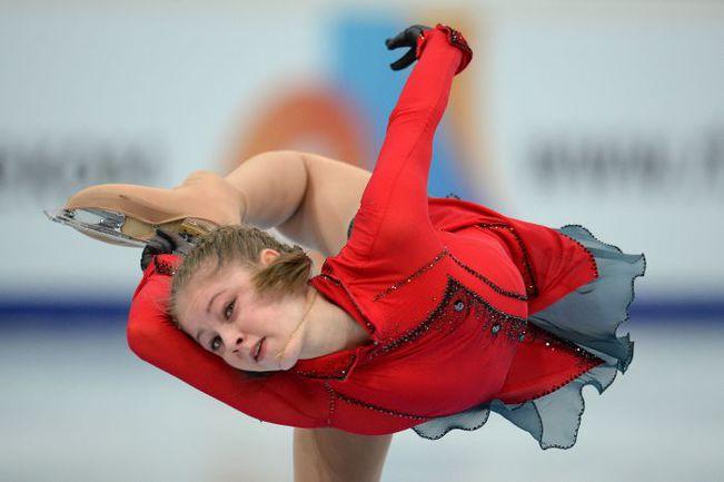 Чемпионка Европы Юлия ЛИПНИЦКАЯ представит Россию в командном олимпийском турнире. Фото AFP