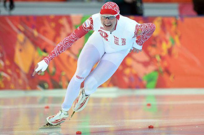 Сегодня. Сочи. Двукратный призер Ванкувера-2010 Иван СКОБРЕВ, по мнению тренера, не был похож на себя. Фото AFP