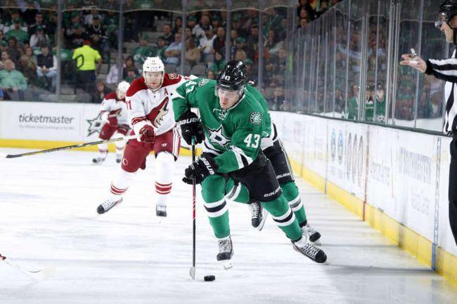 """Суббота. Даллас. """"Даллас"""" – """"Финикс"""" – 2:1. Валерий НИЧУШКИН в атаке. Фото НХЛ"""