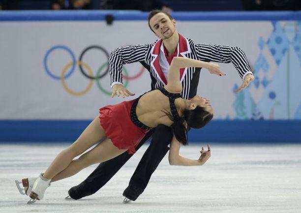Суббота. Сочи. Ксения СТОЛБОВА и Федор КЛИМОВ. Фото REUTERS