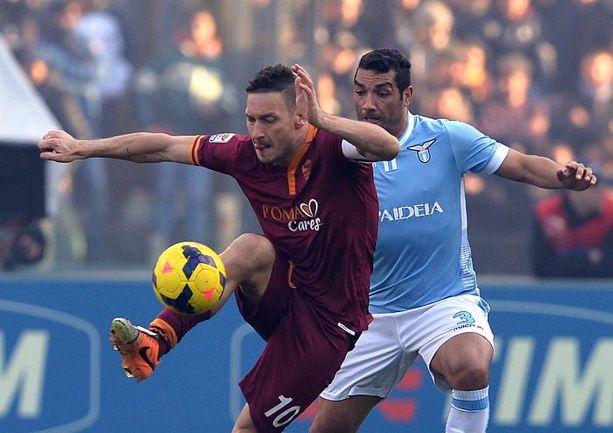 """Сегодня. Рим. """"Лацио"""" - """"Рома"""" - 0:0. Фото AFP"""