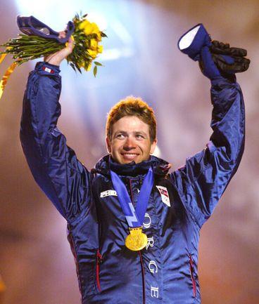 11 февраля 2002 года. Солт-Лейк-Сити. На этой Олимпиаде Оле Эйнар БЬОРНДАЛЕН выиграл четыре золота из четырех. Фото Reuters