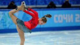 Сегодня. Сочи. Самая юная в отечественной истории олимпийская чемпионка Юлия ЛИПНИЦКАЯ.