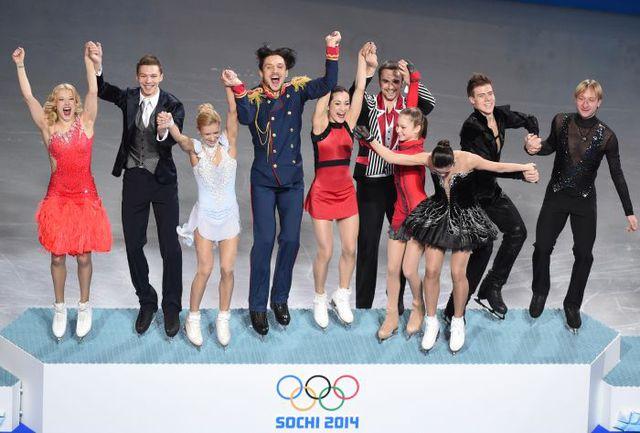 Сегодня. Сочи. Сборная России - чемпион Олимпиады! Фото AFP
