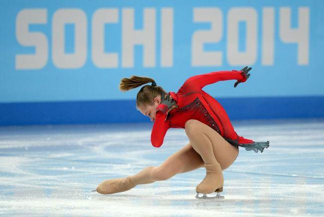 Сегодня. Сочи. Юлия ЛИПНИЦКАЯ. Фото AFP